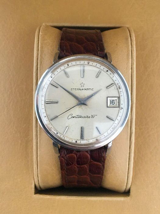 "Eterna-Matic - Centenaire ""61"" - ""NO RESERVE PRICE"" - Men - 1950-1959"