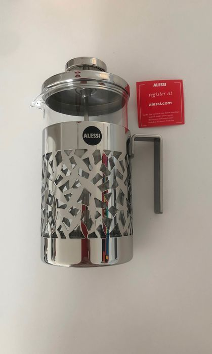 Alessi - Koffiepot (1) - Staal (roestvrij)