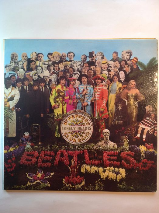 Beatles - Beatles Sgt Peppers lonely hearts club band-UK - LP Album, Official merchandise memorabilia item - 1967/1967