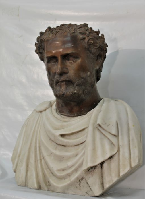 Sculpture, ancient Roman - 58 cm - Marble - Early 20th century