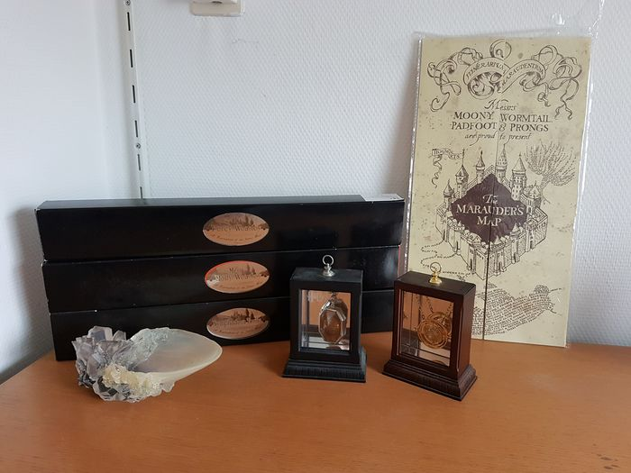Harry Potter - Lot of 7 - Noble Collection Replica Props - see photos and description - Verzamelaarsuitgave