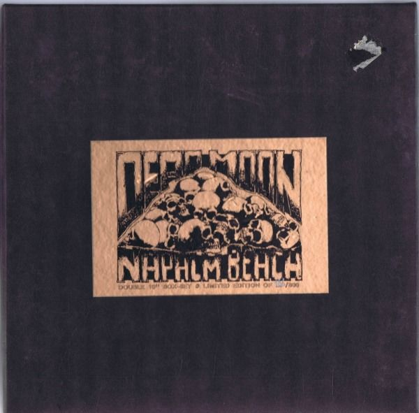 "Dead Moon / Napalm Beach - Live From Beyond / Rumblin' Thunder - (Lot van 2x 10 ""Limited Edition 33,3 RPM Box-set) - 1991/1991"
