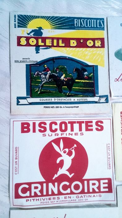 Divers - Lot of 17 food advertising 1930 - 1950's