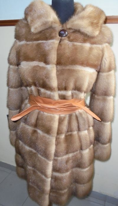 Saga - Mink fur - Fur coat - Made in: Greece