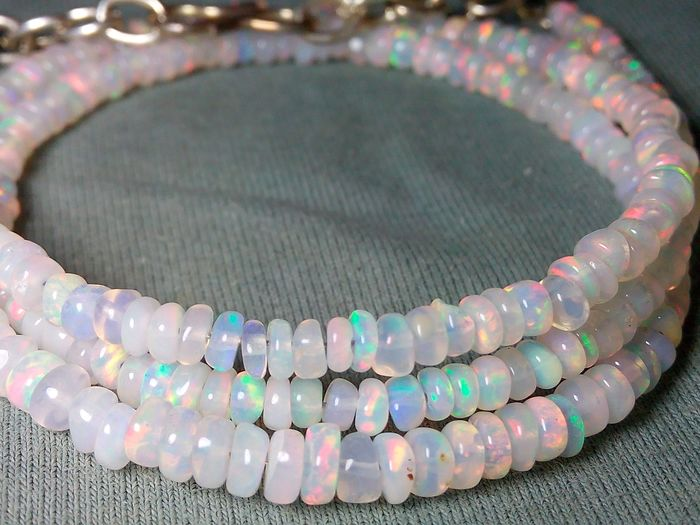 TOP Quality Natural Opal Beads - 29.4 ct - 5.88 g