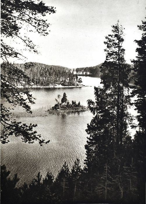 Otava - Suomi. The country of a thousand lakes and wide forests - 1929