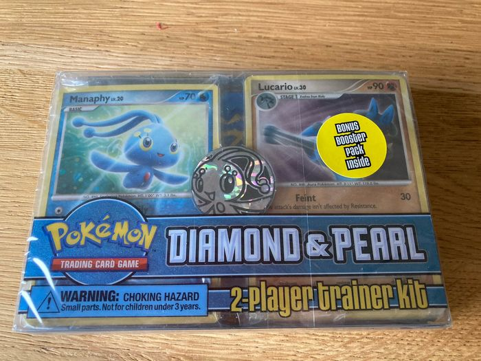 Pokémon - Diamond and Pearl 2-player trainer kit (incl. EX or Diamond and Pearl booster pack) - 2007