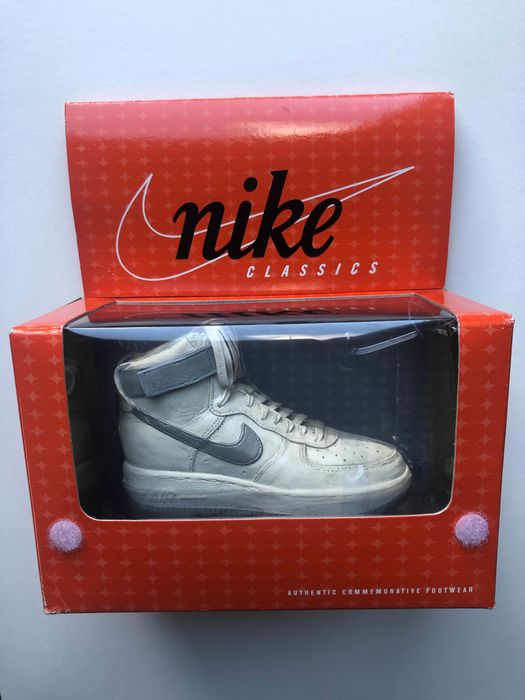 Nike - Air Force 1 collect shoe - Size: Miniatuur commemorative Footwear