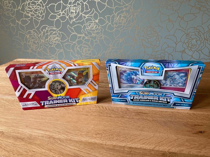 Pokémon - Lycanroc & Rachu and Sandslash & Ninetales Sun and Moon 2-player trainer kits - 2017