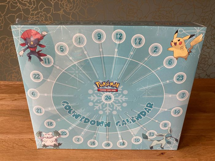 Pokémon - Countdown Calendar (incl. Diamond and Pearl booster pack) - 2008