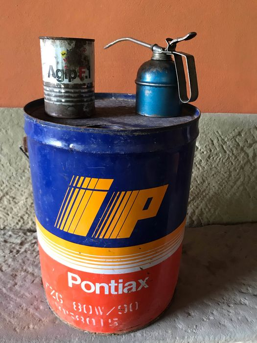 Oil can - Agip, IP