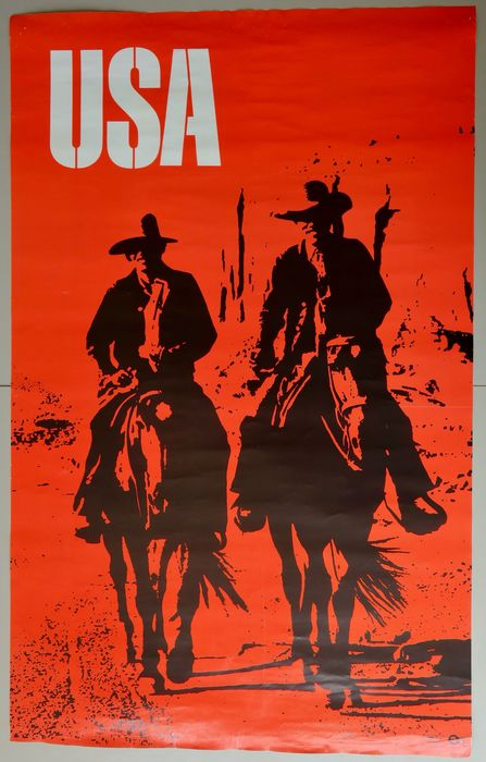 Anonymous - (Visit) USA cowboys - 1968 - 1960-tallet