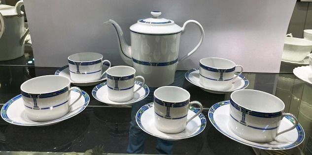 Haviland & Co. Limoges - Koffieservies - Modern - Porselein