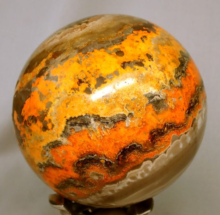 Very rare natural bumblebee jasper Sphere, Sumatra - 117×117×117 mm - 2332 g