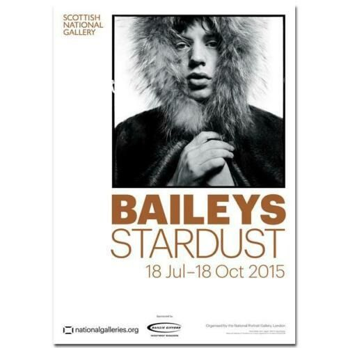 David Bailey - Bailey's Stardust Exhibition Poster David Bailey Mick Jagger - 2015