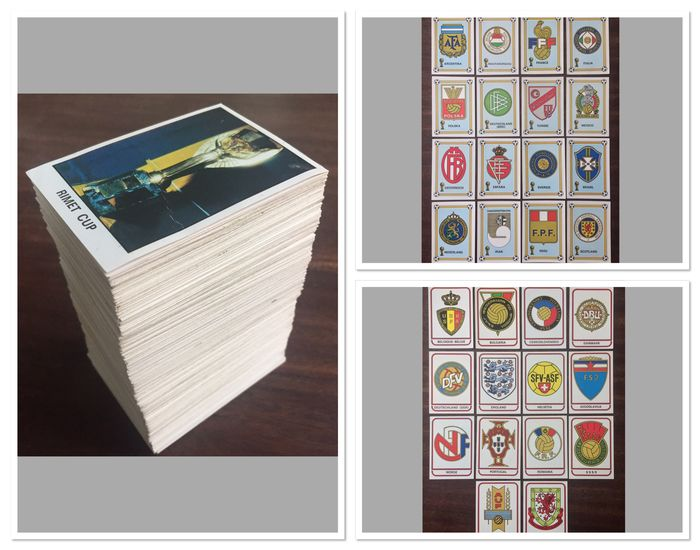 Panini - World Cup Argentina 78 - Complete set minus 15 (385/400) - 1978