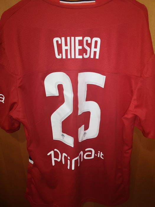 ACF Fiorentina - Serie A Italy  - Federico Chiesa  - 2019 - Jersey(s)