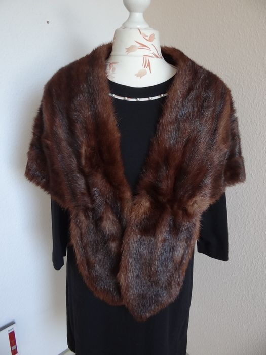 Artisan Furrier - Mink fur - Mink stole cape cape - Made in: Germany