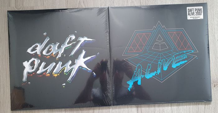 Daft Punk - Alive 2007, Discovery - Multiple titles - LP's - 2014/2019