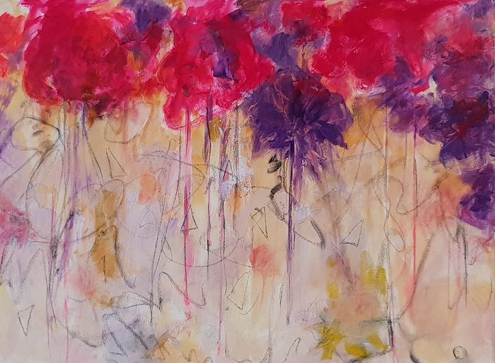 "Branca Knoop - ""Wall of Flowers"""