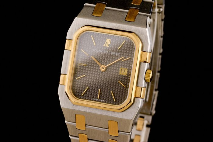"Audemars Piguet - Royal Oak with Date Gold/Steel Slim - ""NO RESERVE PRICE"" - Uomo - 1990-1999"