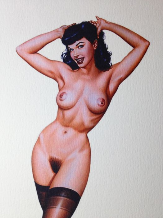 Armando Huerta - Pin-up Lithograph, Signed! - Loose page - First edition - (2000)