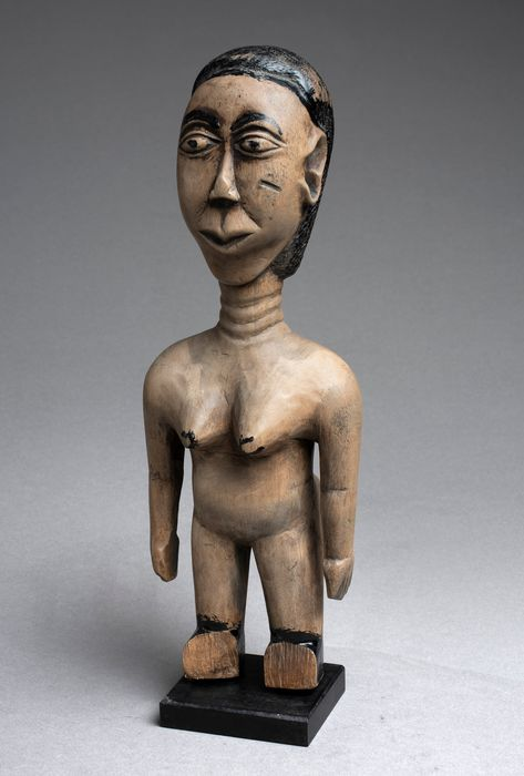 Large and Curious and atypical Venavi Statuette - Wood - Ewé Ghana - Ewe - Africa