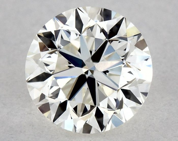 Diamante - 0.40 ct - Brillante - F - VVS2, VG/EX/GD | IGI