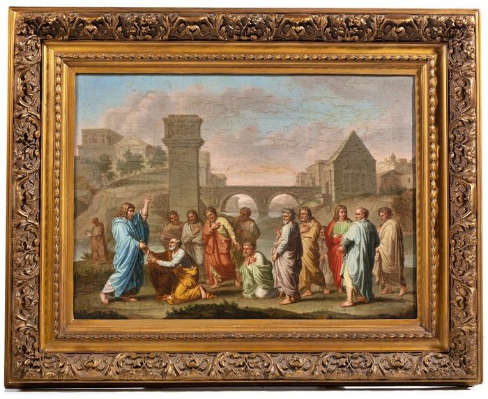 Picture - oil on canvas - First half 18th century