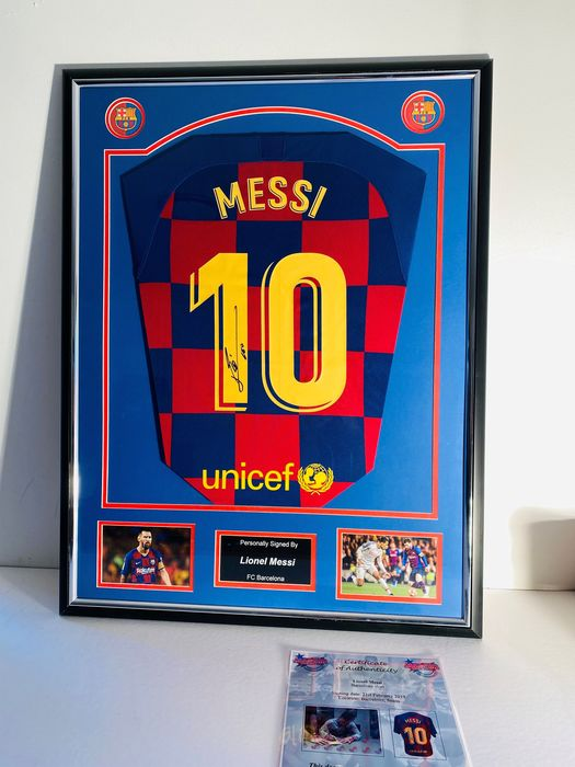FC Barcelona - Spanish Football League - Lionel Messi - 2020 - Jersey
