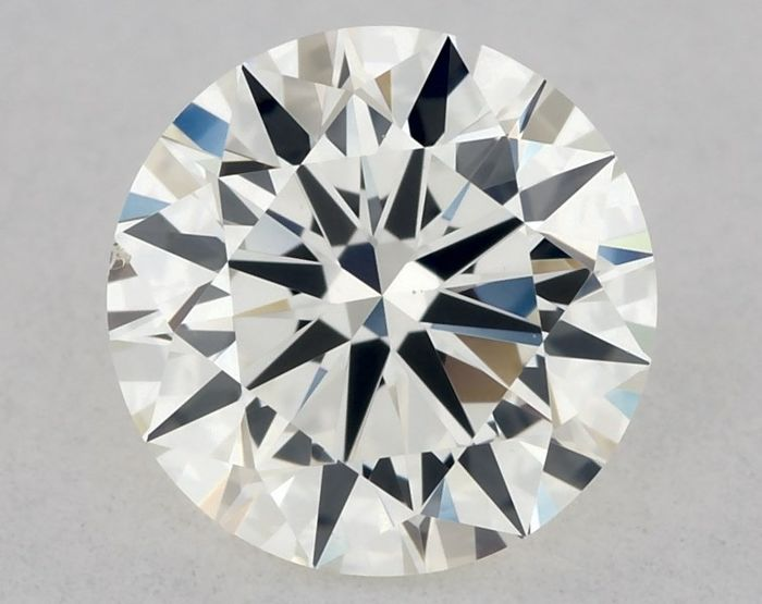 Diamond - 0.58 ct - Brilliant - H - VS1, EX/EX/EX | IGI