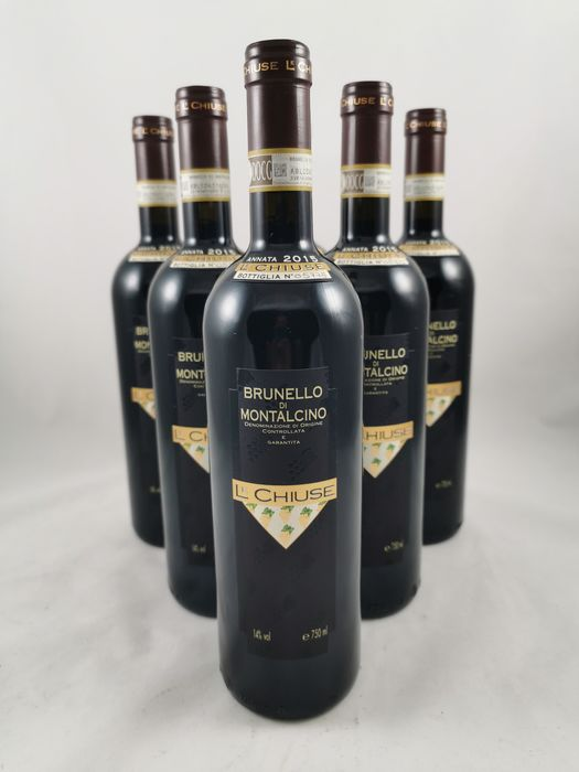2015 Le Chiuse - Brunello di Montalcino - 6 Sticle (0.75L)