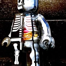 NEW 4D MASTER 1//2 BRICK MAN SKELETON COLLECTOR SERIES FIGURINE BY JASON FREENY