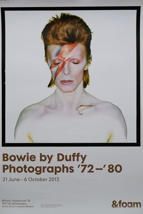 Duffy (original exhibition poster) - Bowie by Duffy Photographs '72 - '80 - 2013