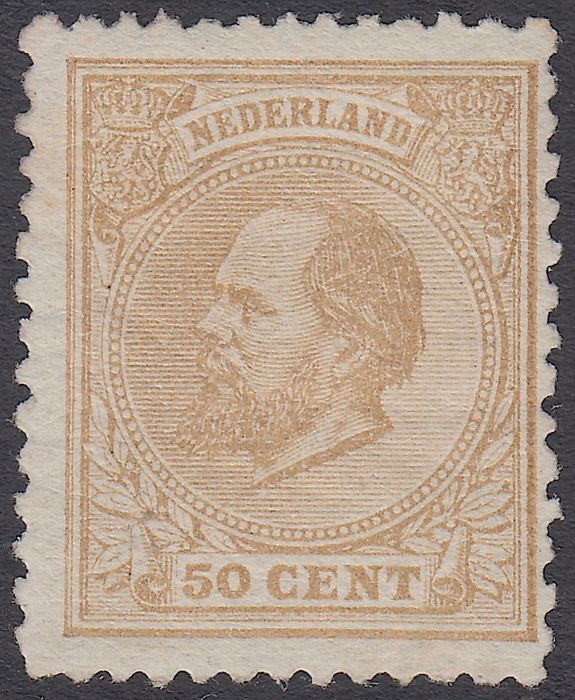 Netherlands 1872 - King Willem III - NVPH 27