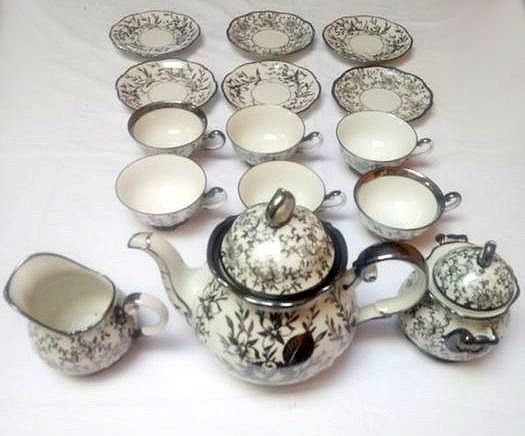 800 Silver Coffee Spoons (21)