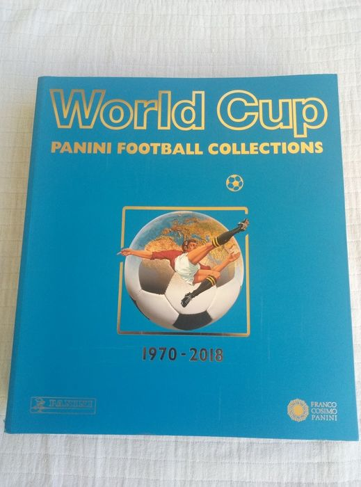 Panini - World Cup Collection 1970 to 2018 - Officieel herdrukt als origineel album