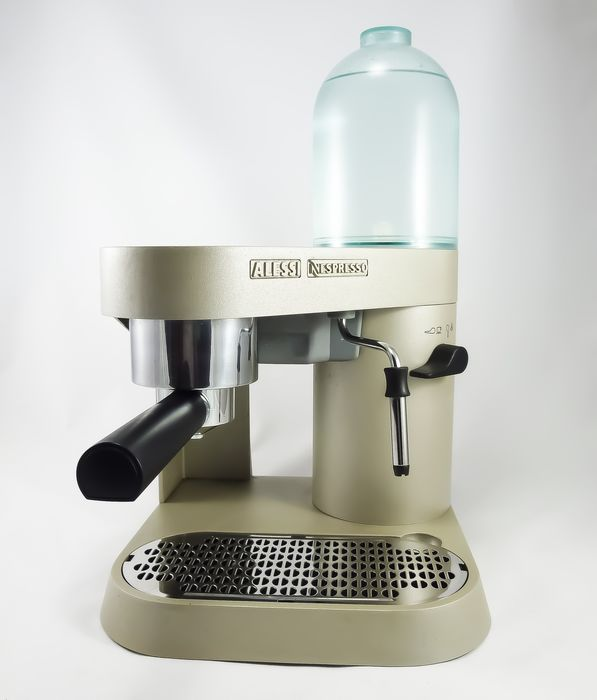 Richard Sapper - Alessi - Nespresso machine - Coban RS 05 - Gold Champagne Edition
