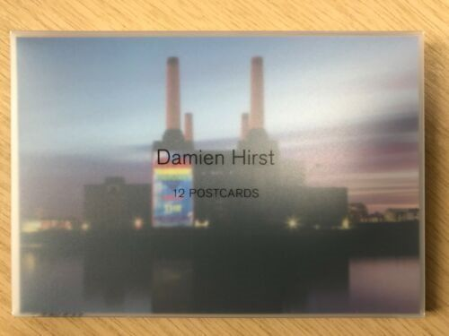 Damien Hirst  - 12 Postcards (Heart and Rainbow)