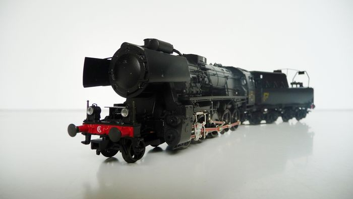 Märklin H0 - 37158 - Steam locomotive with tender - Series 56 - CFL