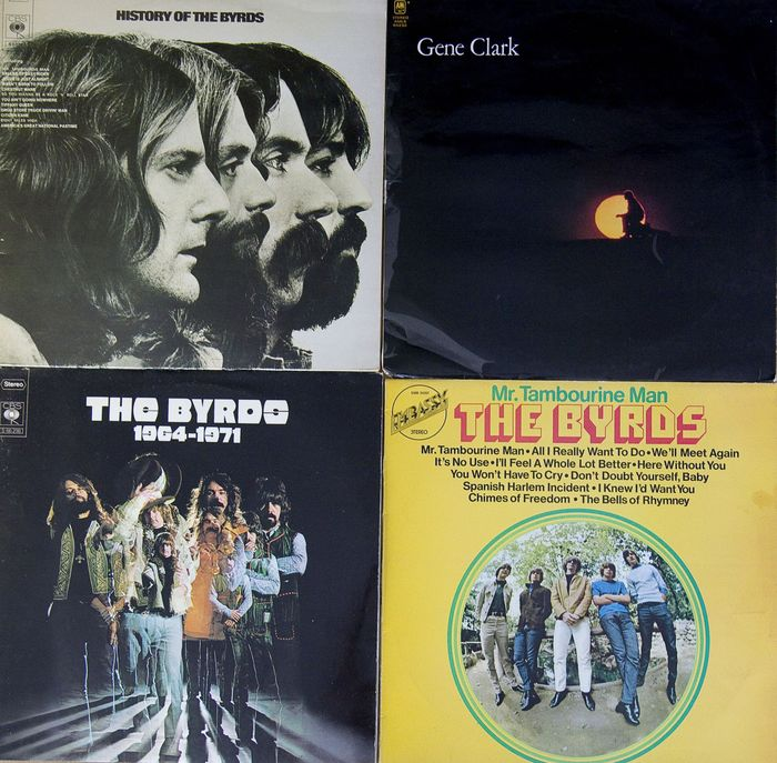 Byrds - 4 lp Albums - LP's - 1971/1973