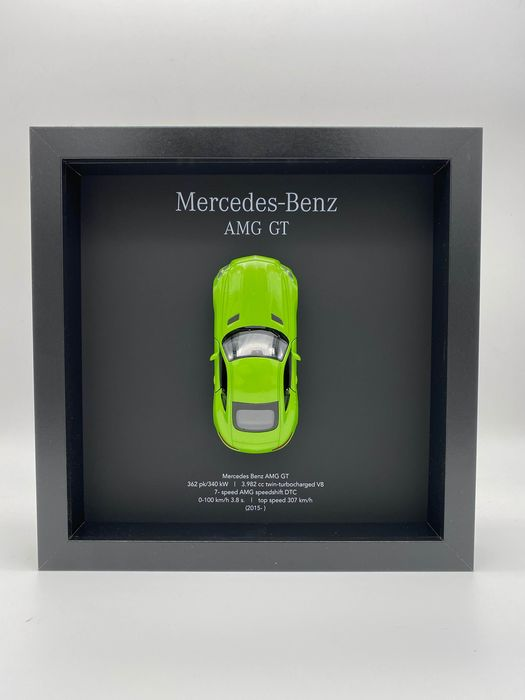Decorative object - Framed 3D object Mercedes Benz AMG GT - Mercedes-Benz