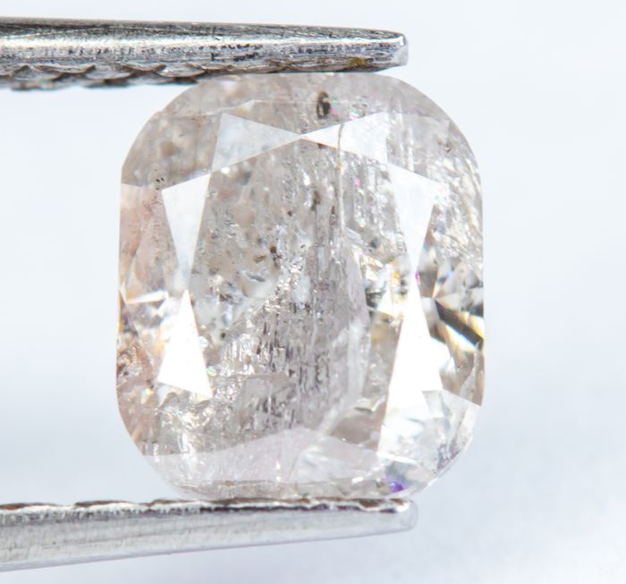 Diamond - 1.08 ct - Natural Fancy Pink - I3  *NO RESERVE*