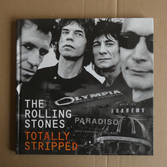 """Rolling Stones - """"Totally Stripped"""" deluxe edition  - Multiple titles - 1 CD, 4 DVD´s - 2016/2016"""