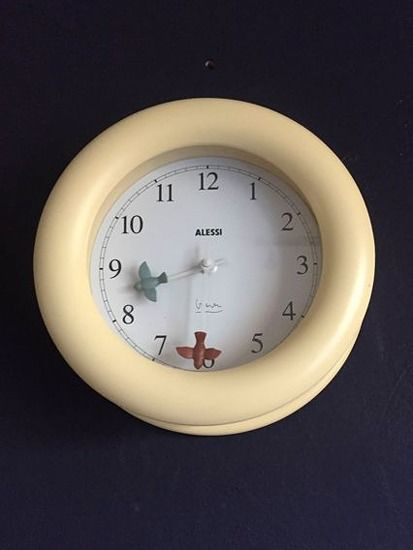 Michael Graves - Alessi - Wall clock - Time Flies