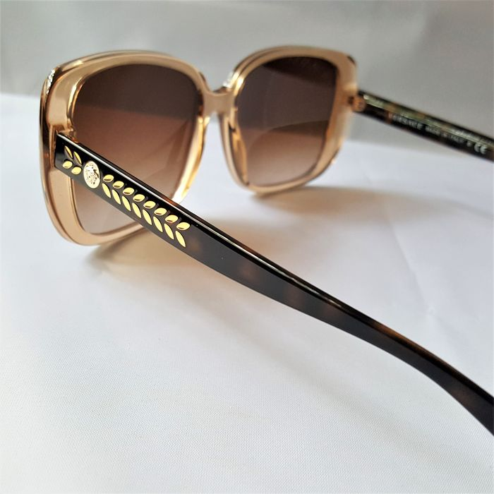 Versace - Butterfly Gold Special Temples - New - Made in Italy - 2020 Sunglasses