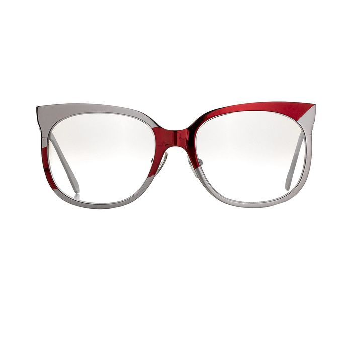 """Danielle Scutt - Oval Two Tone Pink Red With Burgundy Tinted Graduated Lenses 9DS1C3PINK """"NO RESERVE PRICE"""" Sunglasses"""