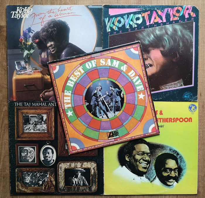 Various Artists/Bands in Soul - Multiple artists - Multiple titles - LP's - 1969/1978