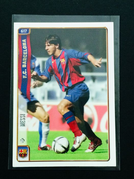 2004 - Lionel Messi FC BARCELONA Rookie Card RC #617