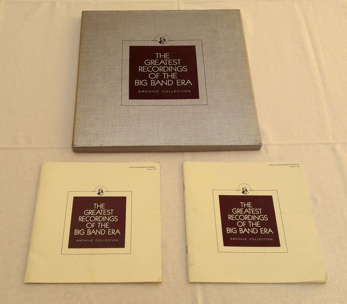 The Greatest Recordings Of The Big Band Area - Multiple artists - The Franklin Mint Record Society - Multiple titles - Deluxe edition, LP Box set - 1985/1980